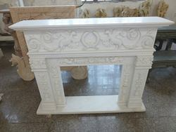 Natural Marble Stone Fireplaces