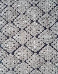 Allover Cotton Embroidered Fabric