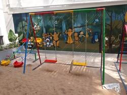 Kids Play School Swing