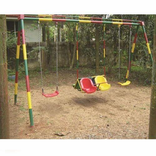 Kids Swing Set At Rs 28250 Piece Puthencruz Kochi Id 13519008562