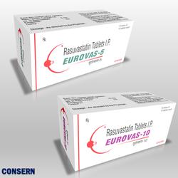 EUROVAS-5/10 (Rosuvastatin Tablets )