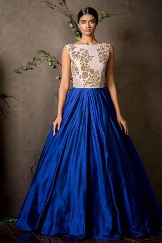 Large Ethnic Full Length Party Wear Gown, Rs 379 /piece, Style Amaze ...