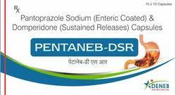 Pantoprazole  Domperidone (Pentaneb - DSR Capsule)