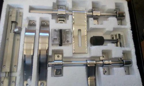 Stainless Steel Door Aldrop Set