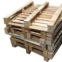 2 Way Rectangular Wooden Pallets For Packaging