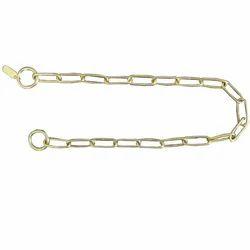 PGPET黄铜正常链接宠物链散装