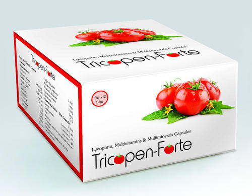 Lycopene Multivitamines And Multiminerals Capsules, Packaging Size: 10*10 Capsules, Packaging Type: Box