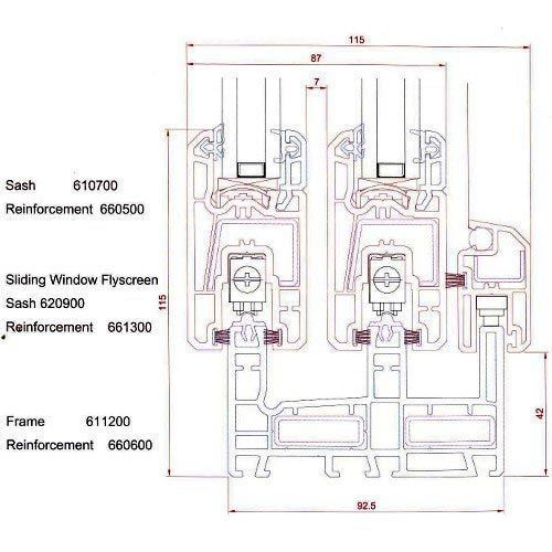 Upvc Profile - View Specifications & Details of Upvc Profile by ...
