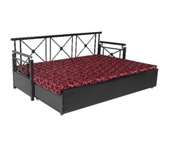 Modern Metal Sofa Cum Bed, For Home