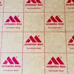 Adiwarna Mica Cast Acrylic Sheet