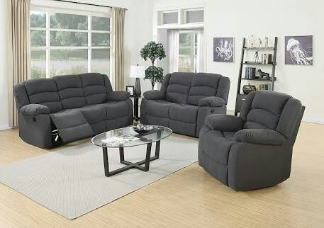 Leather Fabric Recliner Sofa Set Rs 19000 Piece Jay Ambe