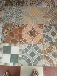 Porcelain Designer Tile, Size: Medium