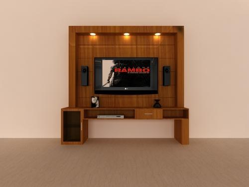 Modular Tv Panel Wooden Tv Panel Manufacturer From Ernakulam