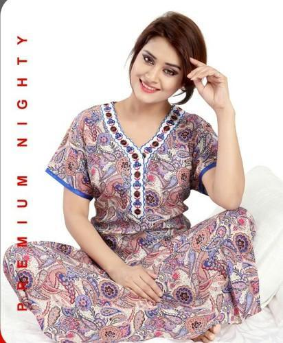 Nightwears - Ladies Cotton Nighty Manufacturer from Mumbai 5eec18b5f