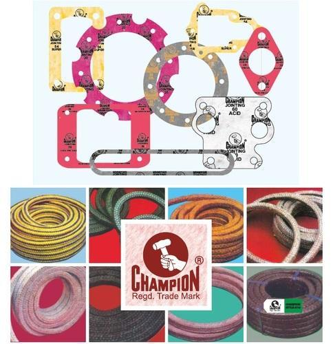 Champion Jointing Sheets and Gland Packings - Champion