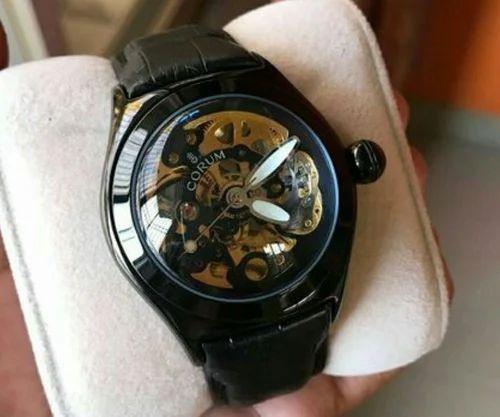 fc9e36b79 Corum Black Wrist Watch, Corum Automatic Watch, Rs 2250 /piece | ID ...