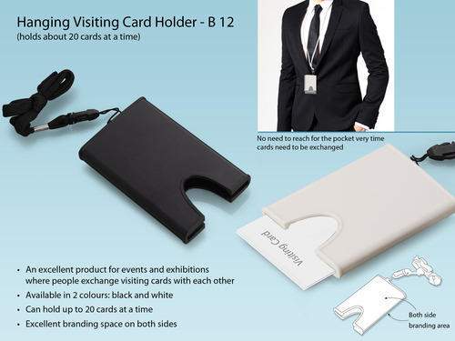 Hanging visiting card holder at rs 30 piece visiting card holders hanging visiting card holder reheart Gallery
