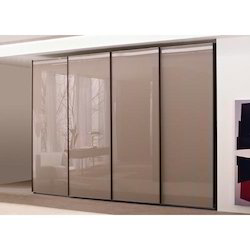 Saint Gobain Multicolor Lacquer Glass Partition, For Wardrobes, Thickness: 6mm