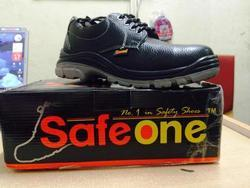 Industrial Leather Safety Shoes Steel Toe, Size: 8.0 And 10.0