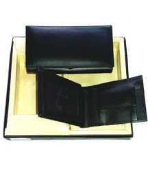 Pure Leather Combo Wallet Set