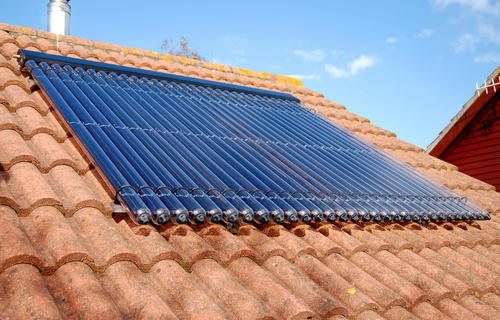 Vacuum Tube Solar Collector, वैक्यूम ट्यूब सोलर कलेक्टर, वैक्यूम नली सोलर  कलेक्टर - Trilig Energy Pvt. Ltd., Gurgaon | ID: 11618826073