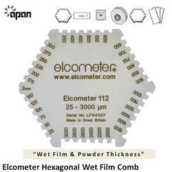 PLASTIC TRICOMB WET FILM GAUGE Pack 200