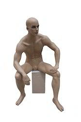 Male Sitting Mannequin MB-201 F