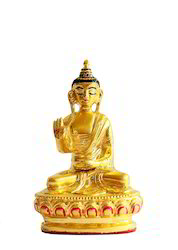 Gold Plated Buddha - Spiritual Idol
