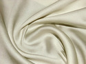 Cream Plain Raw Silk