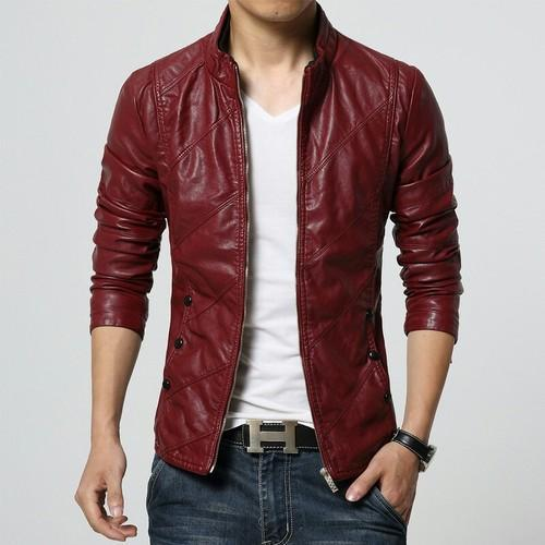 Men Stylish Leather Jacket Rs 2700 Piece Royal Gallery Id