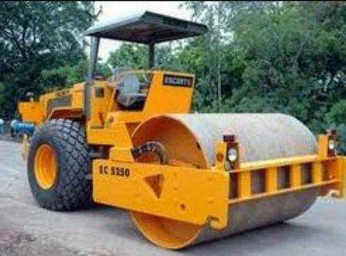 Vibratory Road Roller Soil Compactor - Vikram Construction