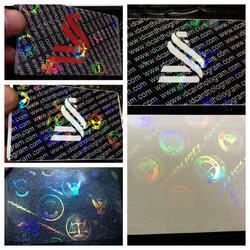 Holographic Custom 3D Transparent Overlays for PVC Cards
