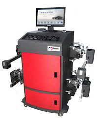 Automatic Wheel Alignment Machine, For Automobile Industry