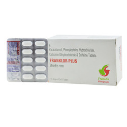 Paracetamol Phenylephrine Hydrochloride Tablet