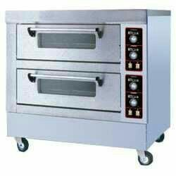 Electric Double Deck Bakery Oven