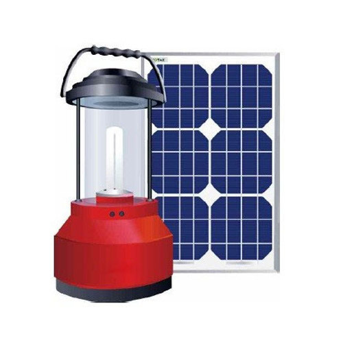 Red Rechargeable Solar Led Lantern