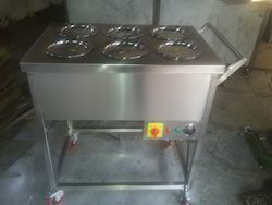 SS Food Electrical Trolley