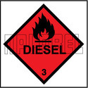 160029 Diesel Signs Vinyl Sticker