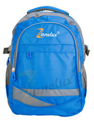 Blue Backpack Bag