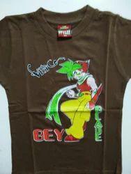 Round Kids Printed T-Shirt
