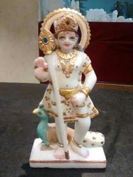 Murugan Marble Statue