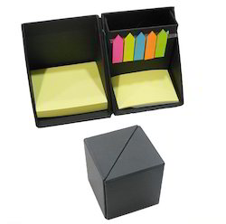 Cube Memo Pad with Pen Stand