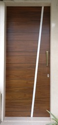 Interior Finished Wooden Door