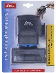 Shiny S-883 Self Inking Printing Kit