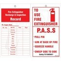 Fire Extinguisher Refilling Tag