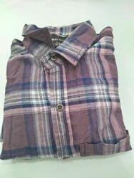 Mens Knitted Full Sleeve Shirt