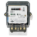 Single Phase KWH Energy Meter Static Type COUNTER AND LCD