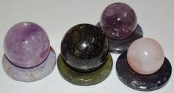 Natural Crystal Balls