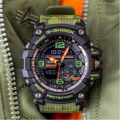 5442a924f G-Shock Mud Master Burton GG1000BTN-1A at Rs 3000  piece