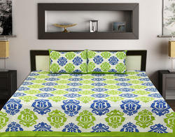 Printed Double Bedsheets With Pillow Covers